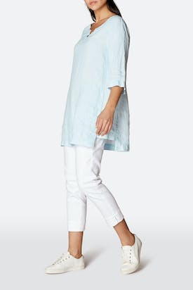 Photo of Chalk Linen Tunic