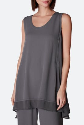 Photo of Georgette Trim Crepe Vest
