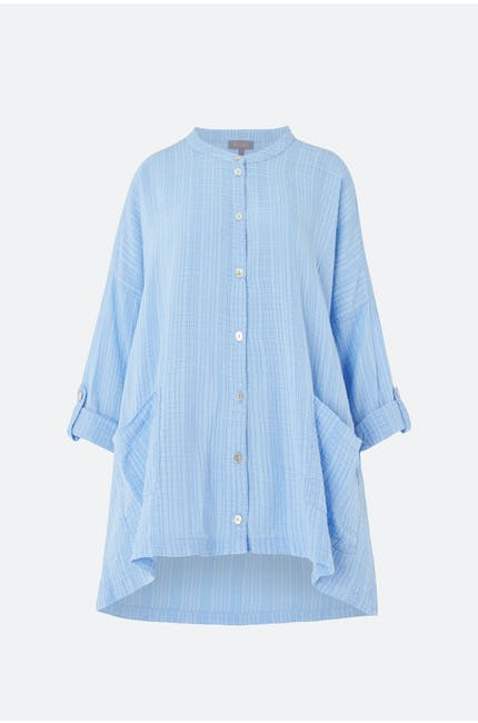 Voile Check Shirt