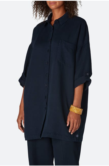 Slub Tencel Easy Shirt