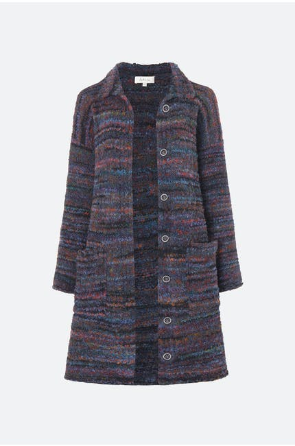 Space Dyed Boucle Knit Cardi