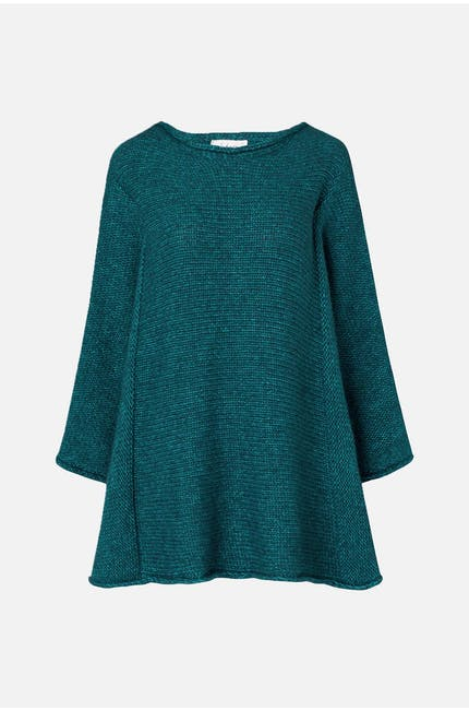 Photo of Two Tone Knit Boxy Top