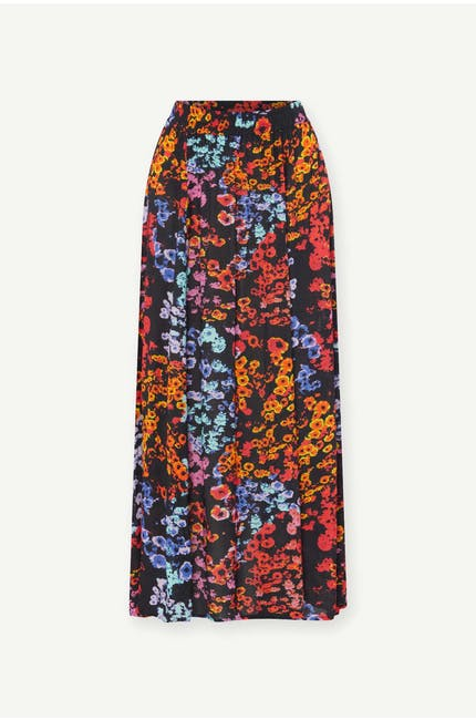 Photo of Winter Floral Crepe Skirt