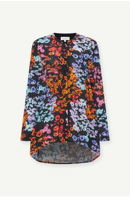 Photo of Winter Floral Crepe Shirt