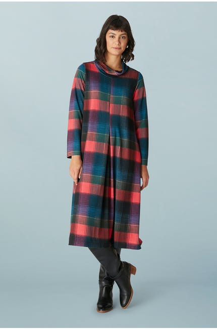 Photo of Graphic Check Jersey Dress