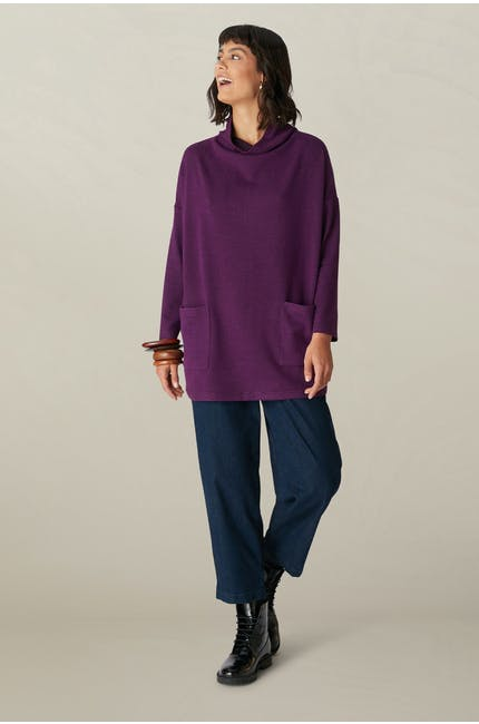 Speckled Brush Jersey Tunic