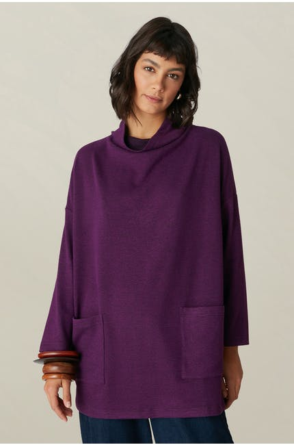 Photo of Speckled Brush Jersey Tunic