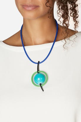 Photo of Suspended Planet Necklace