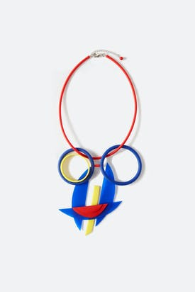 Photo of Colourful Visage Necklace