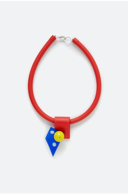 Samuel Coraux Abstract Detail Necklace