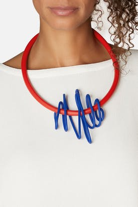 Photo of Big Squiggle Necklace
