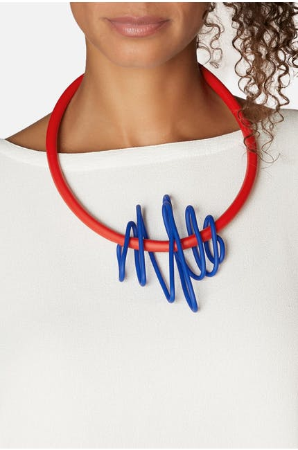 Samuel Coraux Big Squiggle Necklace