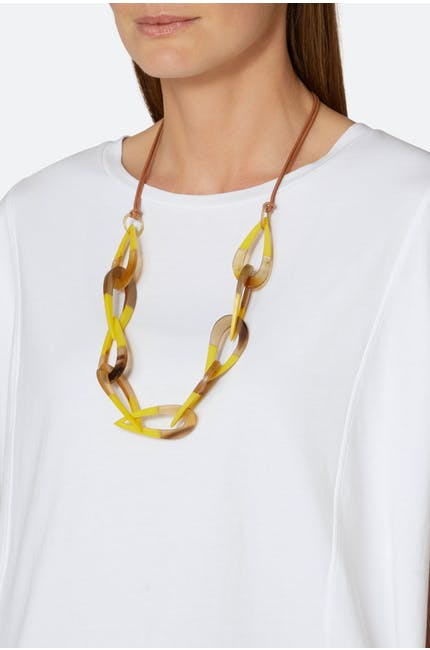 Photo of Linked Loop Necklace