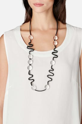 Photo of Graphic Crystal Necklace