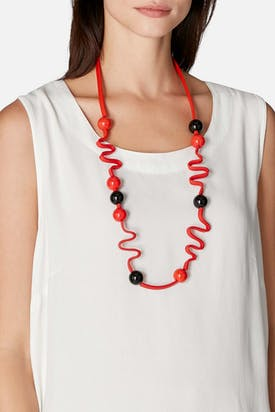 Photo of Graphic Squiggle Necklace
