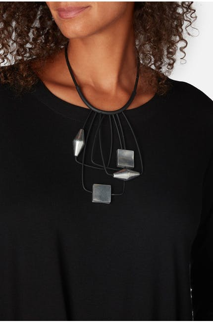 Suspended Shapes Necklace