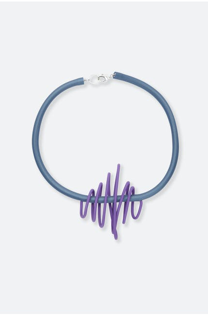 Squiggle Necklace