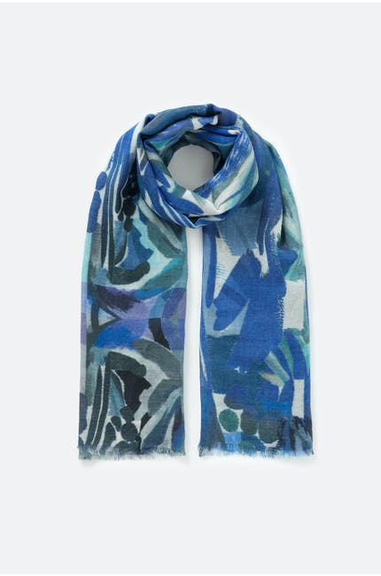 Photo of Painted Floral Scarf