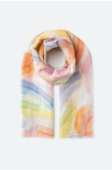 Pastel Coloured Scarf