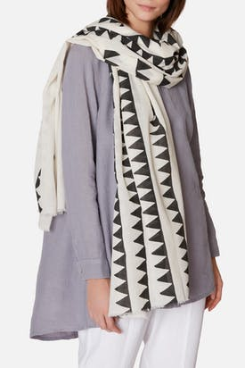 Photo of Pyramid Block Print Scarf