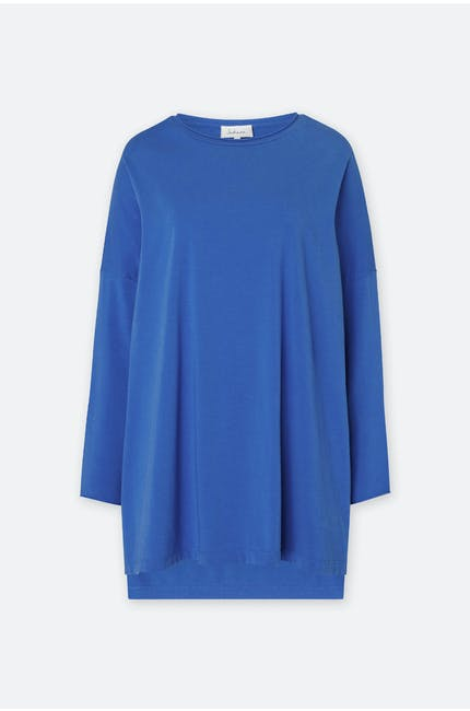 Cotton Jersey Oversize Top