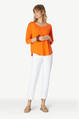 Photo of Viscose Jersey Relaxed T-shirt