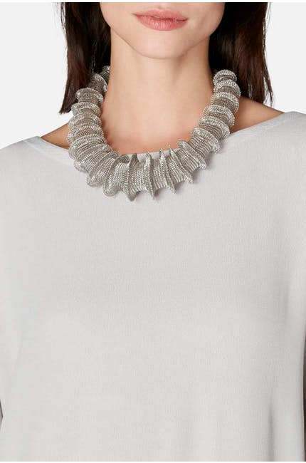 Photo of Statement Crochet Necklace
