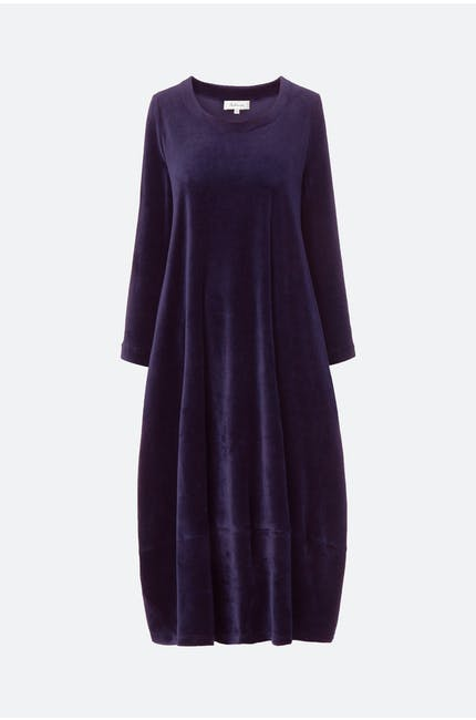 Photo of Velvet Jersey Bubble Dress