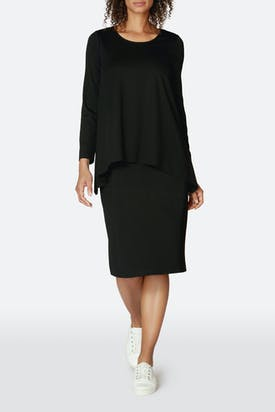 Photo of Ponte Double Layer Dress