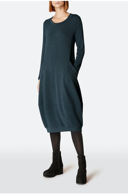Textured Jersey Bubble Dress