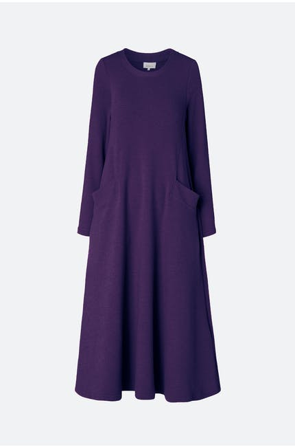 Photo of Textured Jersey A Line Dress