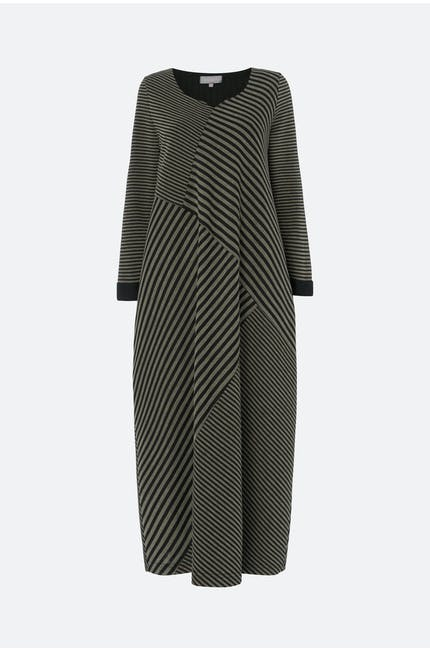 Double Stripe Jersey Dress