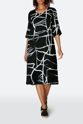 Photo of Abstract Linen Cotton Dress