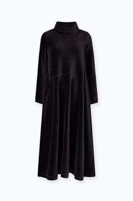 Photo of Velvet Rib Jersey Dress