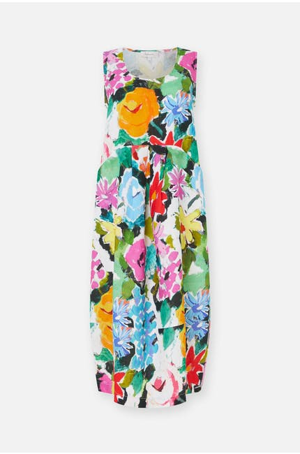 Photo of Painted Floral Linen Dress