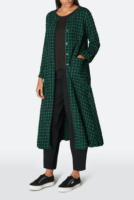 Photo of Grid Check Shirt Dress