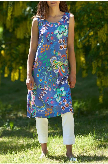 Floral Symphony Shift Dress