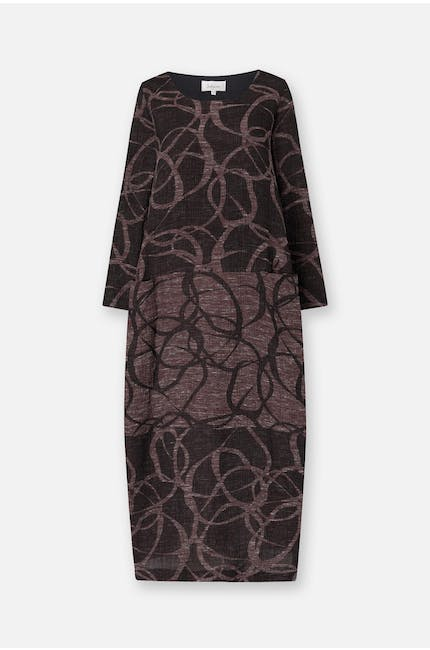 Photo of Abstract Circle Jacquard Dress