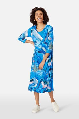 Photo of Abstract Painted Jersey Dress