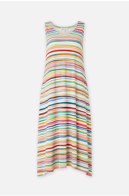 Photo of Stripe Jersey Sleeveless Dress