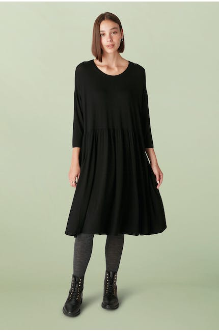 Photo of Crepe Jersey Flared Dress