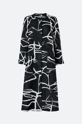 Photo of Abstract Linen Cotton Coat