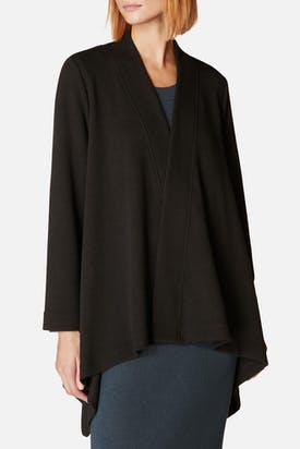 Photo of Textured Jersey Drape Jacket