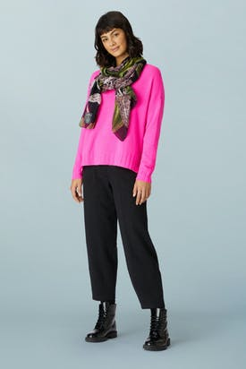 Photo of Marl Jersey Bubble Trouser