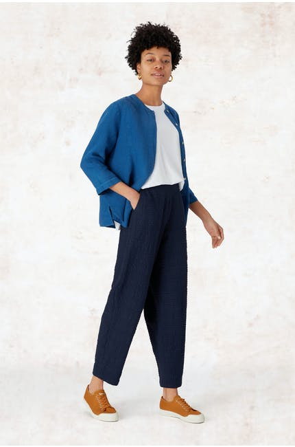 Photo of Crinkle Twill Bubble Trouser