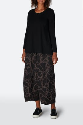 Photo of Abstract Circle Jacquard Trouser