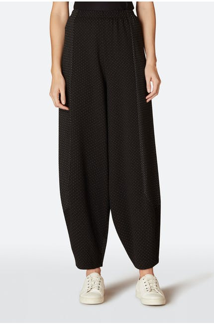 Dot Ponte Bubble Trouser