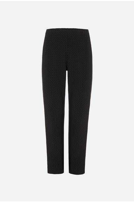 Dot Ponte Slim Trouser