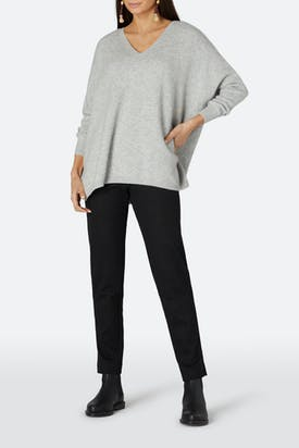 Photo of Double Jersey Slim Trousers