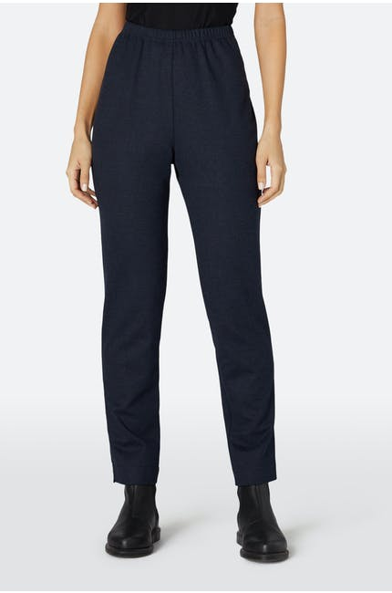 Double Jersey Slim Trousers
